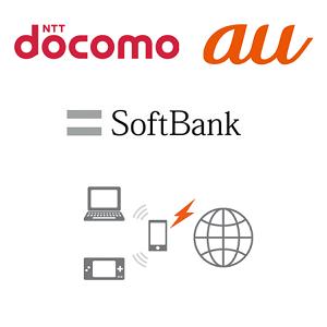 tethering-docomo-au-softbank