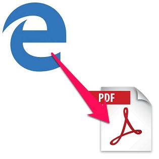 print webpage to pdf windows 10