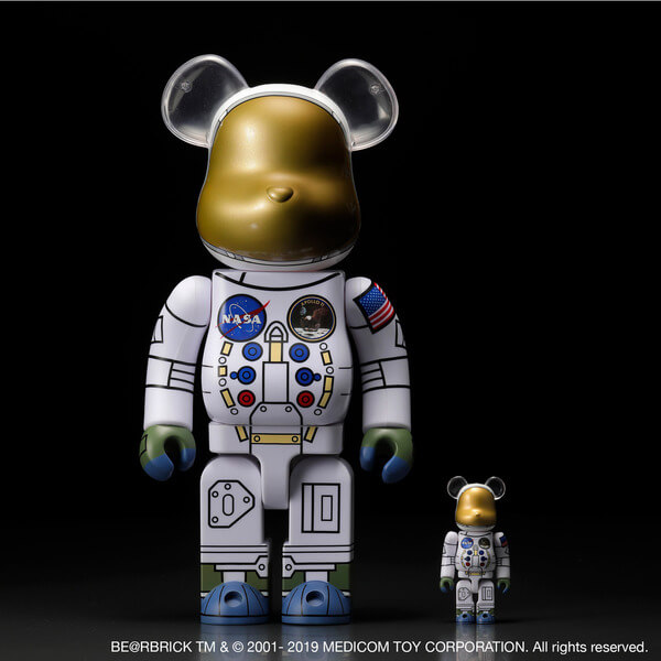 1969 ASTRONAUT BE@RBRICK 100% & 400% SET 2