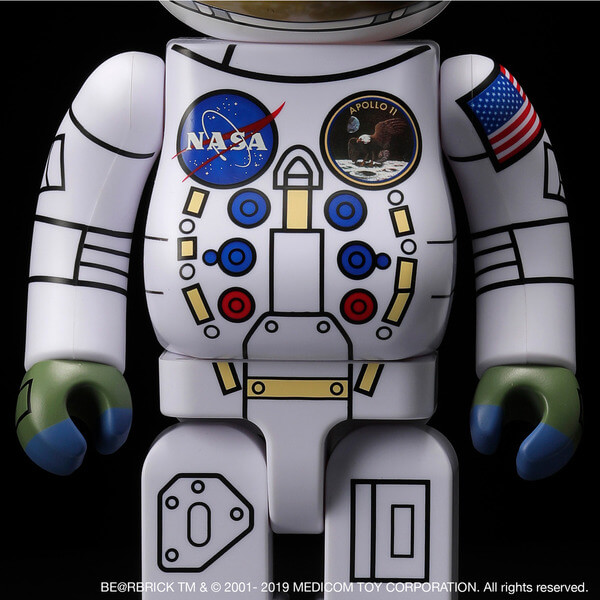 1969 ASTRONAUT BE@RBRICK 100% & 400% SET 3