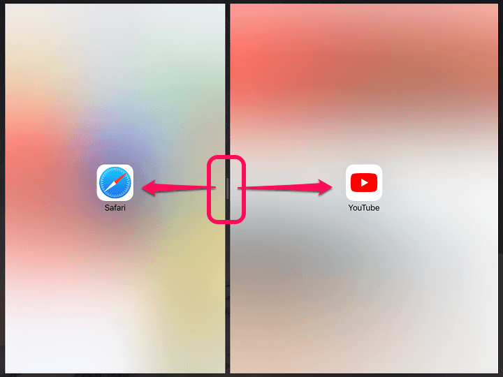 iOS11 SplitView使い方