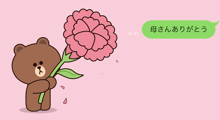 LINE母の日背景
