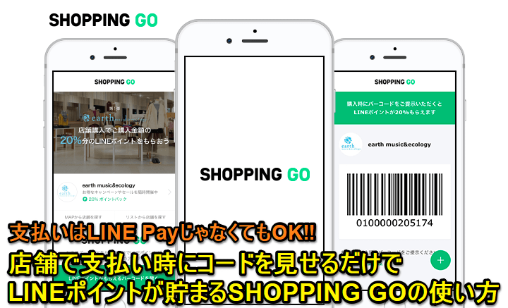 LINE SHOPPING GO