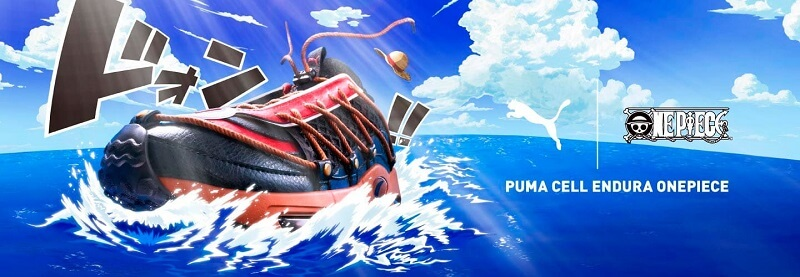【第1弾】PUMA × ONE PIECE CELL ENDURA スニーカー