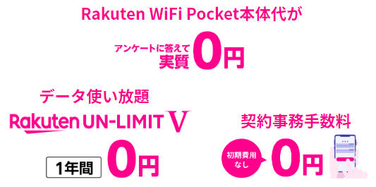 Wifi pocket 楽天